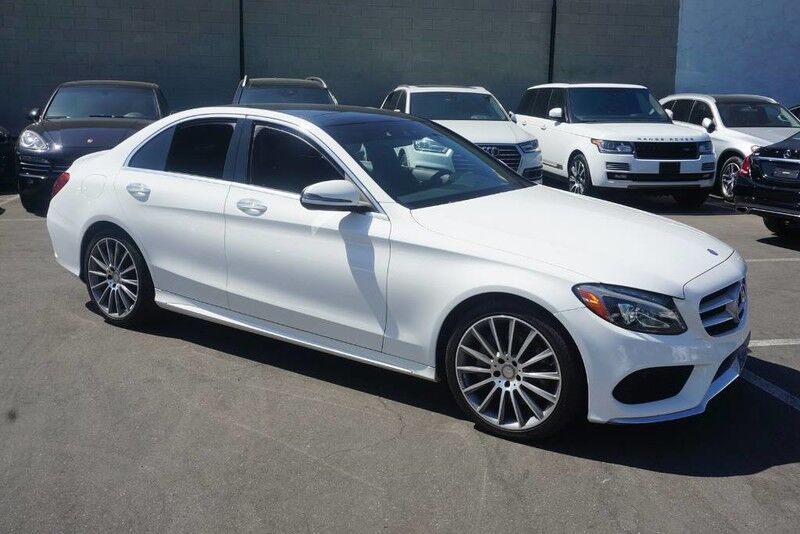2016 Mercedes-Benz C-Class C 300 4MATIC (11/15) SPORT PACKAGE / PANORAMA ROOF Monterey Park CA