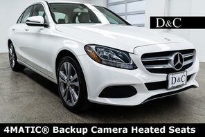 2016_Mercedes-Benz_C-Class_C 300 4MATIC Backup Camera Heated Seats_ Portland OR