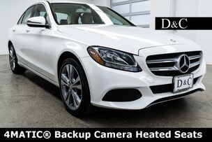 2016 Mercedes-Benz C-Class C 300 4MATIC Backup Camera Heated Seats