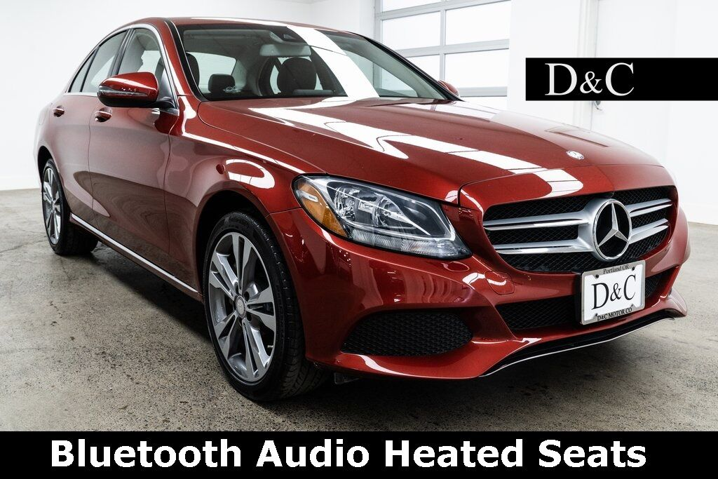 2016 Mercedes-Benz C-Class C 300 4MATIC Bluetooth Audio Heated Seats Portland OR