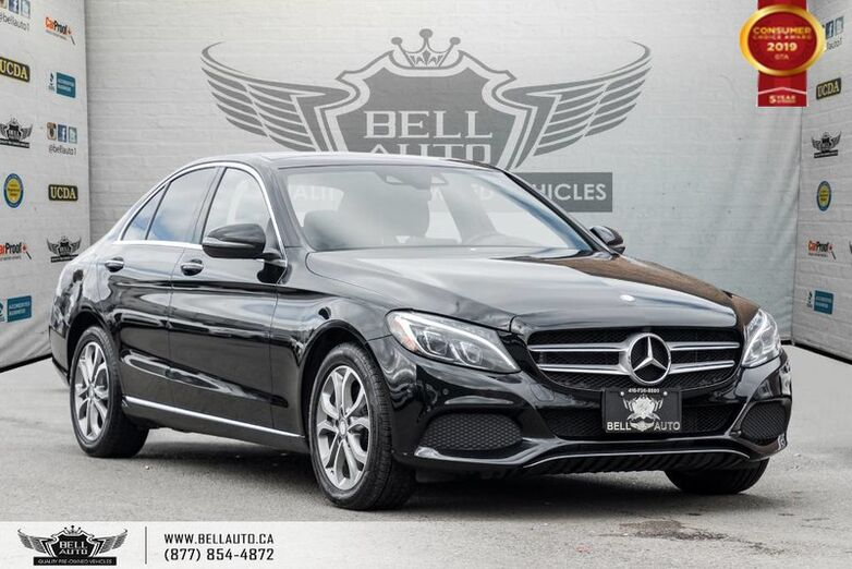 2016 Mercedes-Benz C-Class C 300, 4MATIC, NAVI, BACK-UP CAM, HEADS-UP DIS, SENSORS Toronto ON
