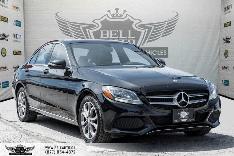 2016 Mercedes-Benz C-Class C 300, 4MATIC, NAVI, BACK-UP CAM, PANO ROOF, LEATHER Toronto ON