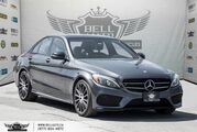 2016 Mercedes-Benz C-Class C 300, 4MATIC, NO ACCIDENT, NAVI, BACK-UP CAM, SUNROOF, BLIND SPOT Toronto ON