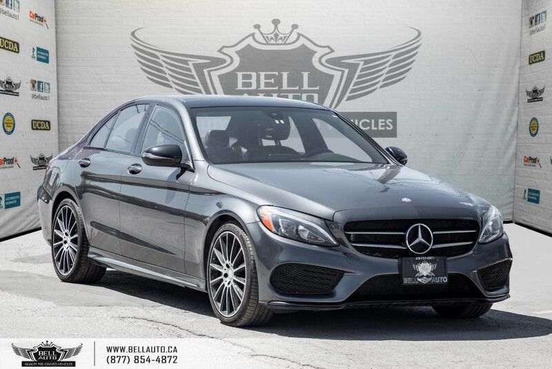 2016 Mercedes-Benz C-Class C 300, 4MATIC, NO ACCIDENT, NAVI, BACK-UP CAM, SUNROOF, BLIND SPOT