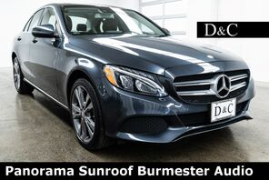 2016_Mercedes-Benz_C-Class_C 300 4MATIC Panorama Sunroof Burmester Audio_ Portland OR