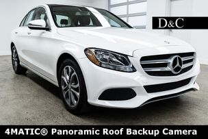 2016 Mercedes-Benz C-Class C 300 4MATIC Panoramic Roof Backup Camera
