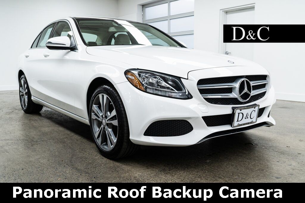 2016 Mercedes-Benz C-Class C 300 4MATIC Panoramic Roof Backup Camera Portland OR