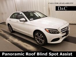 2016_Mercedes-Benz_C-Class_C 300 4MATIC Panoramic Roof Blind Spot Assist_ Portland OR