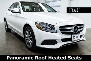 2016_Mercedes-Benz_C-Class_C 300 4MATIC Panoramic Roof Heated Seats_ Portland OR