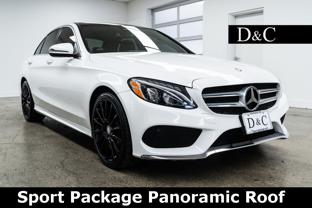2016 Mercedes-Benz C-Class C 300 4MATIC Sport Package Panoramic Roof Portland OR