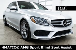 2016_Mercedes-Benz_C-Class_C 300 4MATIC® AMG Sport Blind Spot Assist_ Portland OR