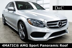 2016 Mercedes-Benz C-Class C 300 4MATIC® AMG Sport Panoramic Roof
