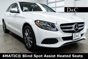 2016_Mercedes-Benz_C-Class_C 300 4MATIC® Blind Spot Assist Heated Seats_ Portland OR