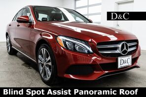 2016_Mercedes-Benz_C-Class_C 300 4MATIC® Blind Spot Assist Panoramic Roof_ Portland OR