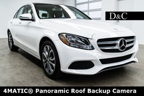 2016_Mercedes-Benz_C-Class_C 300 4MATIC® Panoramic Roof Backup Camera_ Portland OR