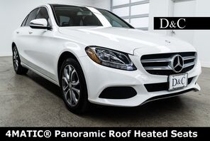 2016_Mercedes-Benz_C-Class_C 300 4MATIC® Panoramic Roof Heated Seats_ Portland OR