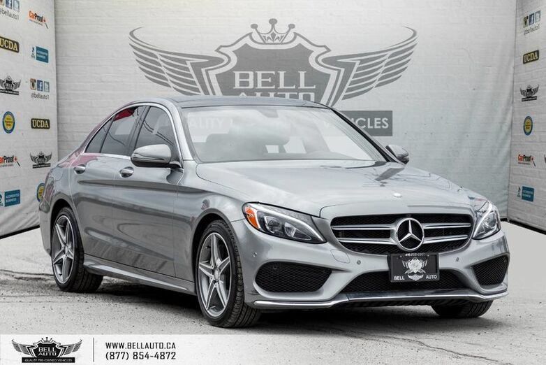 2016 Mercedes-Benz C-Class C 300, AMG PKG, NAVI, BACK-UP CAM, PANO ROOF, BLIND SPOT Toronto ON