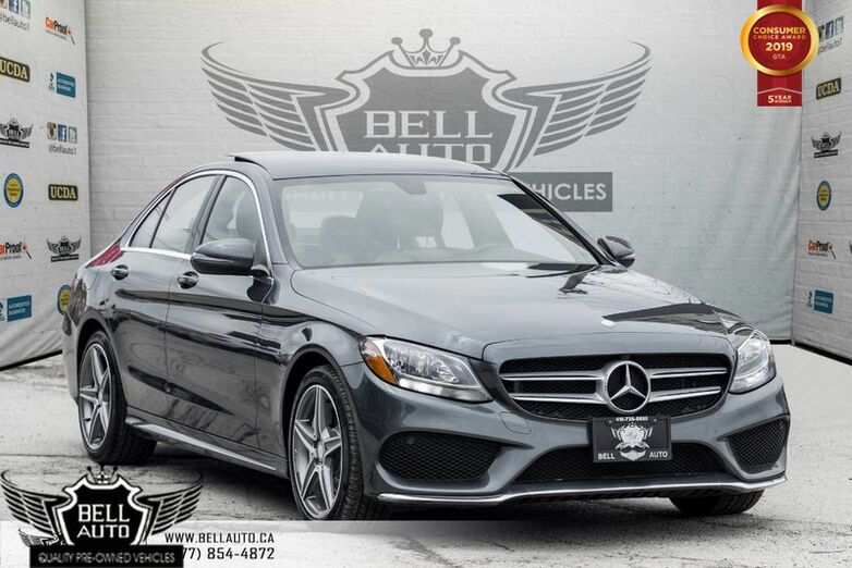 2016 Mercedes-Benz C-Class C 300, AMG PKG, PANO ROOF, NAVI, BACK-UP CAM, BLIND SPOT, Toronto ON