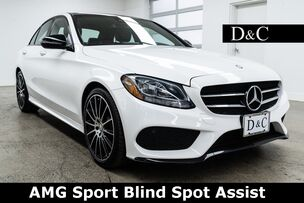 2016 Mercedes-Benz C-Class C 300 AMG Sport Blind Spot Assist