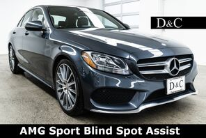 2016_Mercedes-Benz_C-Class_C 300 AMG Sport Blind Spot Assist_ Portland OR