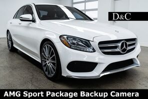 2016_Mercedes-Benz_C-Class_C 300 AMG Sport Package Backup Camera_ Portland OR
