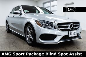 2016_Mercedes-Benz_C-Class_C 300 AMG Sport Package Blind Spot Assist_ Portland OR