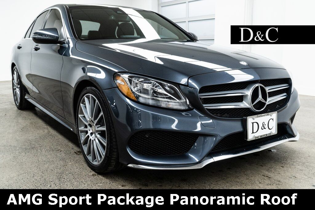2016 Mercedes-Benz C-Class C 300 AMG Sport Package Panoramic Roof Portland OR