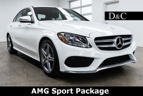 2016_Mercedes-Benz_C-Class_C 300 AMG Sport Package_ Portland OR