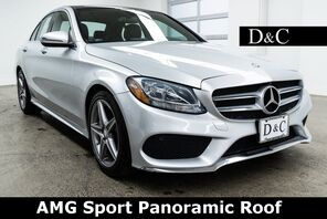 2016_Mercedes-Benz_C-Class_C 300 AMG Sport Panoramic Roof_ Portland OR