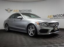 2016_Mercedes-Benz_C-Class_C 300 AMG,Blind Spot,Pano,Nav,Camera,Burmester_ Houston TX