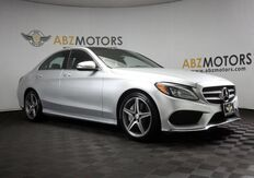 2016_Mercedes-Benz_C-Class_C 300 AMG,Pano,Blind Spot,Nav,Camera,Burmester_ Houston TX
