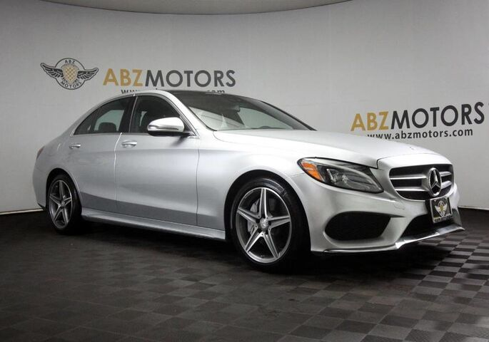 2016 Mercedes-Benz C-Class C 300 AMG,Pano,Blind Spot,Nav,Camera,Burmester Houston TX
