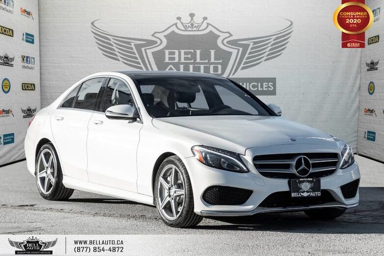 2016 Mercedes-Benz C-Class C 300, AWD, NAVI, REAR CAM, B.SPOT, PANO ROOF Toronto ON