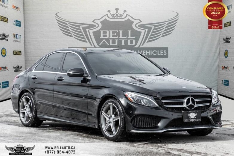 2016 Mercedes-Benz C-Class C 300, AWD, NAVI, REAR CAM, B.SPOT, SENSORS, PANO ROOF Toronto ON