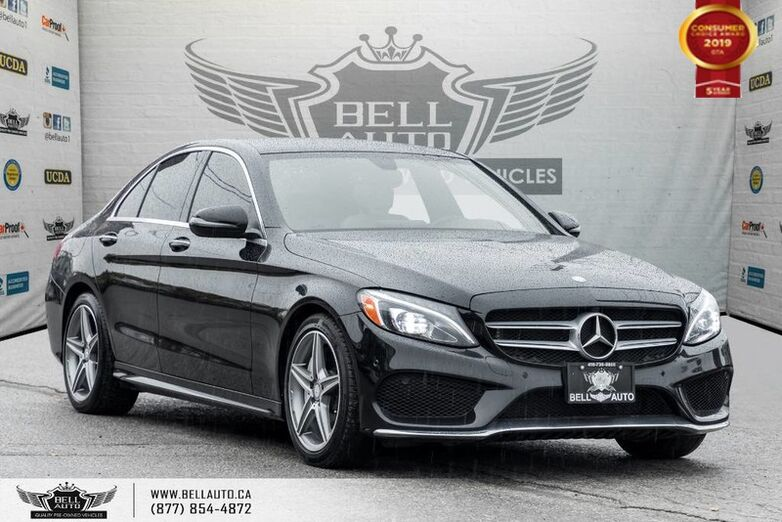 2016 Mercedes-Benz C-Class C 300, AWD, NO ACCIDENT, NAVI, BACK-UP CAM, SENSOR, SOLD Toronto ON