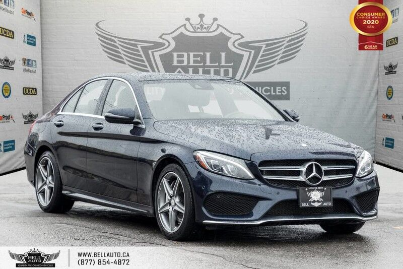 2016 Mercedes-Benz C-Class C 300, AWD, NO ACCIDENT, NAVI, BACK-UP CAM, SENSORS