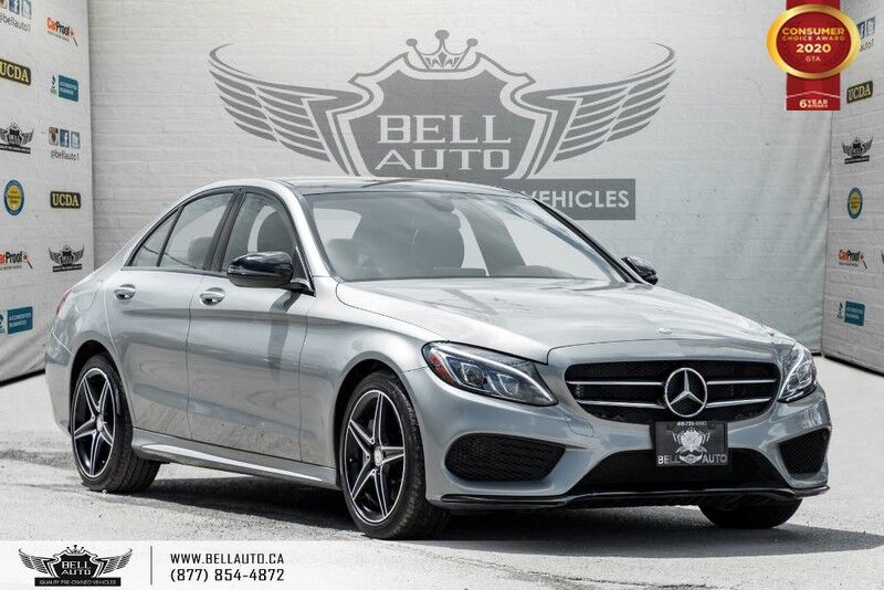 2016 Mercedes-Benz C-Class C 300, AWD, NO ACCIDENT, NAVI, REAR CAM
