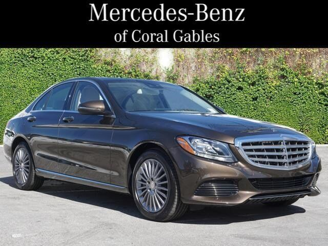 2016 Mercedes-Benz C-Class C 300 Luxury Coral Gables FL