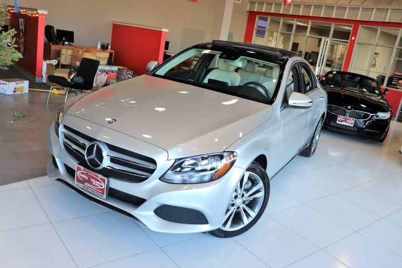 2016 Mercedes-Benz C-Class C 300 Luxury Multimedia Package Panorama Blind Spot Premium Package Navigation Backup Camera Heated Front Seats Springfield NJ