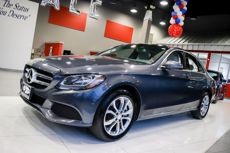 2016 Mercedes-Benz C-Class C 300 Luxury Panorama Roof Blind Spot heated Front Seats Backup Camera Springfield NJ