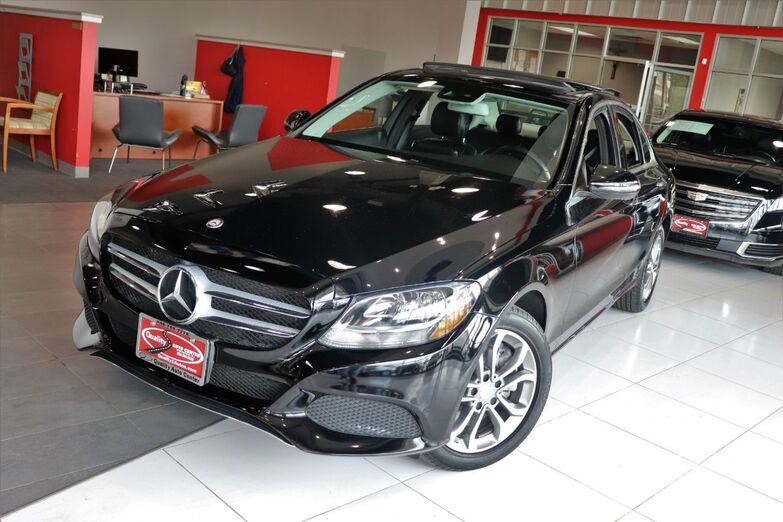 2016 Mercedes-Benz C-Class C 300 Luxury Panorama Roof Premium Heated Front Seats Blind Spot Assist Backup Camera 1 Owner Springfield NJ