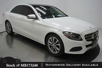 Mercedes-Benz C-Class C 300 NAV READY,CAM,PANO,17IN WHLS,$42K MSRP 2016