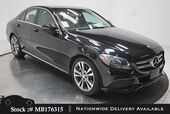 2016 Mercedes-Benz C-Class C 300 NAV READY,CAM,PANO,HTD STS,18IN WHLS