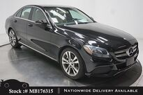 Mercedes-Benz C-Class C 300 NAV READY,CAM,PANO,HTD STS,18IN WHLS 2016