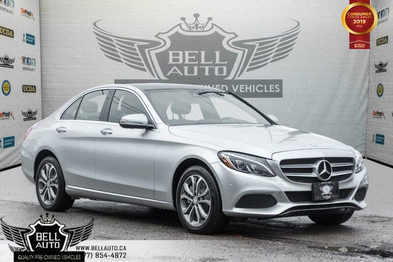 2016 Mercedes-Benz C-Class C 300, NAVI, 360 CAM, PANO ROOF, HEATED/ MEMORY SEATS Toronto ON