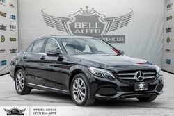 Mercedes-Benz C-Class C 300, NAVI, BACK-UP CAM, PANO ROOF, LEATHER, SENSORS 2016