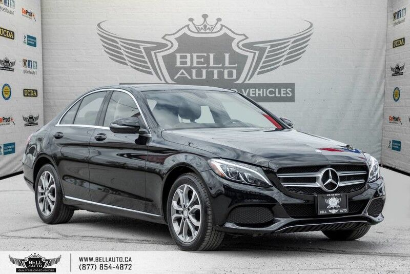 2016 Mercedes-Benz C-Class C 300, NAVI, BACK-UP CAM, PANO ROOF, LEATHER, SENSORS Toronto ON