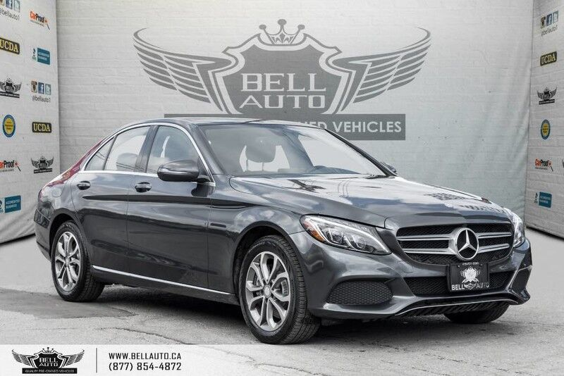 2016 Mercedes-Benz C-Class C 300, NO ACCIDENT, 4MATIC, NAVI, BACK-UP CAM, PANO ROOF