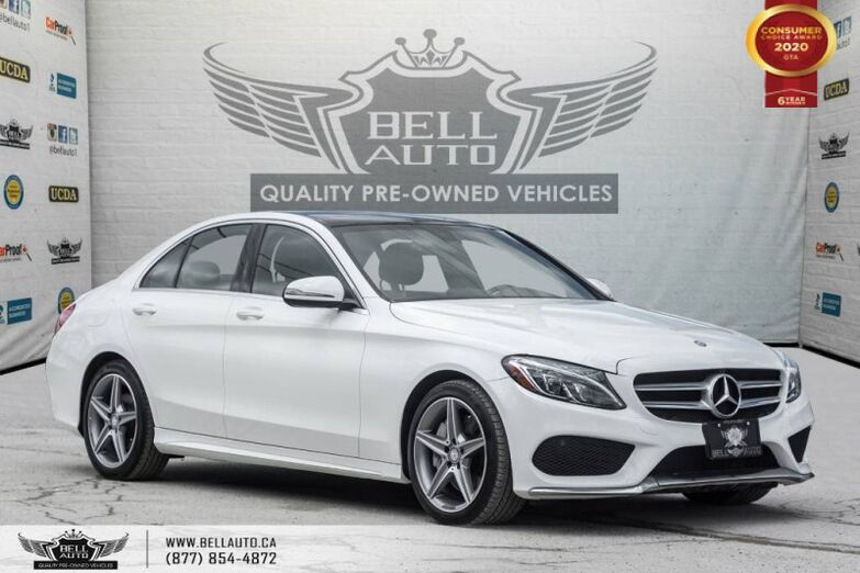 2016 Mercedes-Benz C-Class C 300, NO ACCIDENT, AWD, NAVI, REAR CAM, B.SPOT Toronto ON