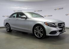 2016_Mercedes-Benz_C-Class_C 300 Navigation,Camera,Blind Spot,Burmester Sound_ Houston TX
